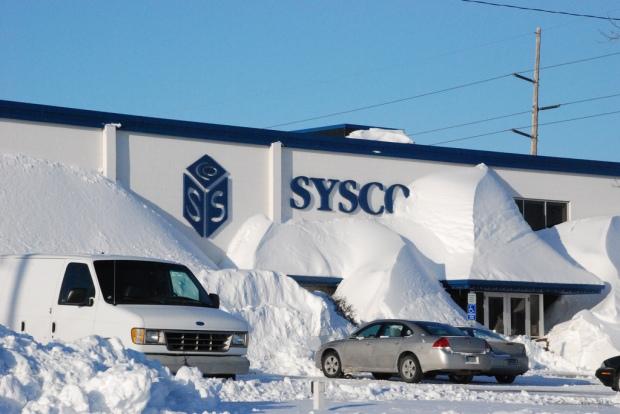 Fargo snowstorm