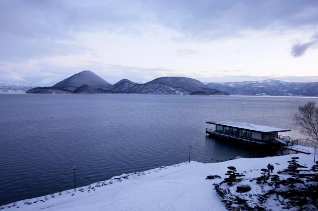lago Toya en enero de 2008